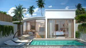Coconut Grove pool villa resort phuket
